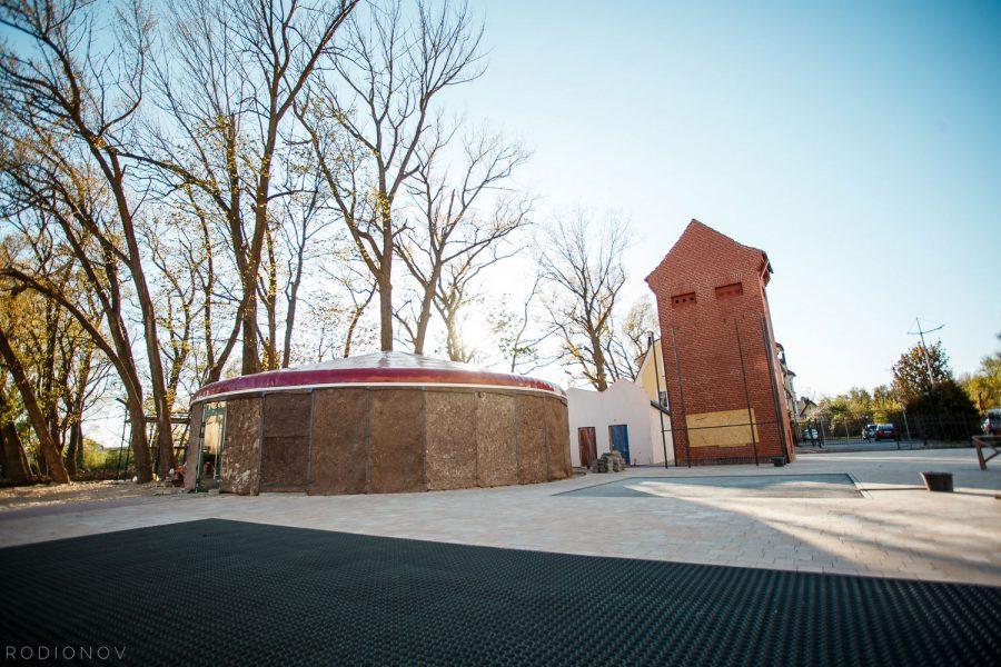 Строительство Музея в Зеленоградске (2019)