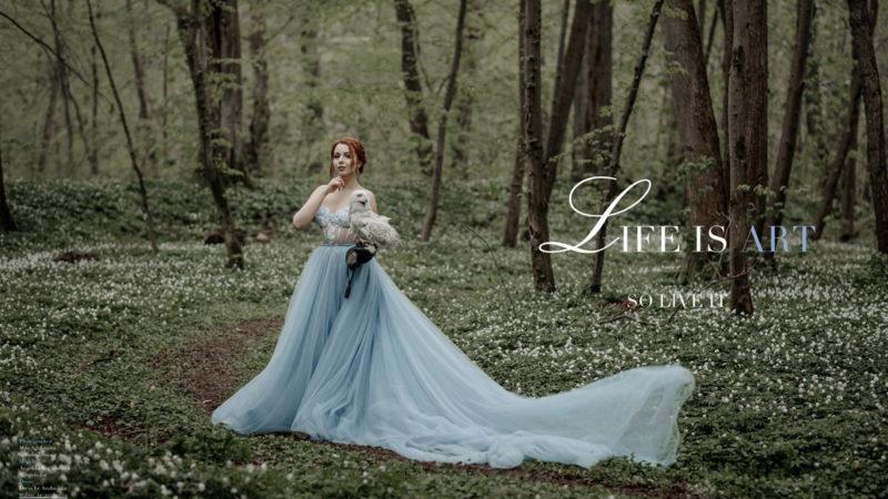 Полинарий на страницах американского журнале Life is Art!